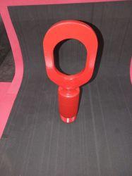 Elevador para tubo edutor  em aço carbono  de 1. 1/2  polegadas, olhal grande