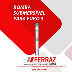 Bomba submersível para furo 3'' 3SE(m)